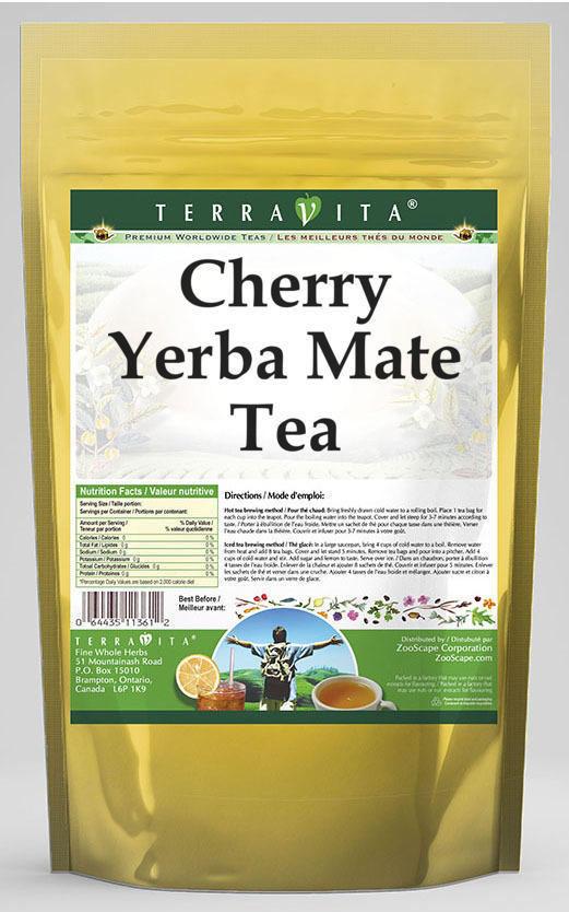 Cherry Yerba Mate Tea