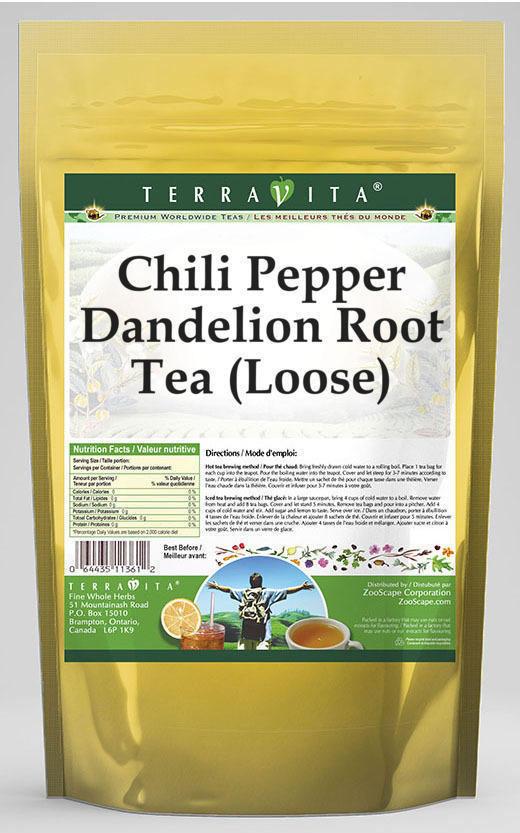 Chili Pepper Dandelion Root Tea (Loose)