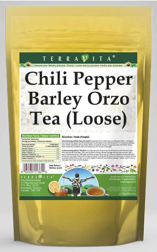 Chili Pepper Barley Orzo Tea (Loose)