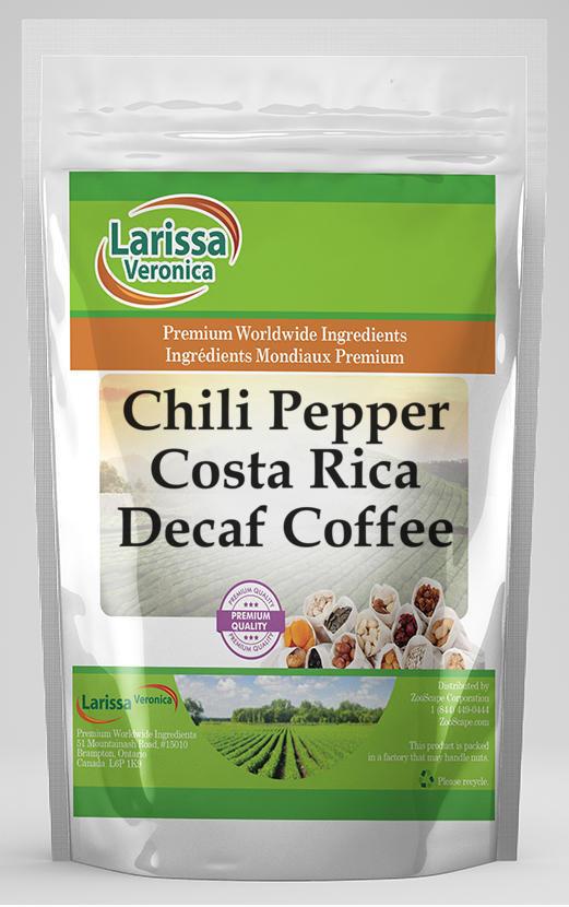 Chili Pepper Costa Rica Decaf Coffee