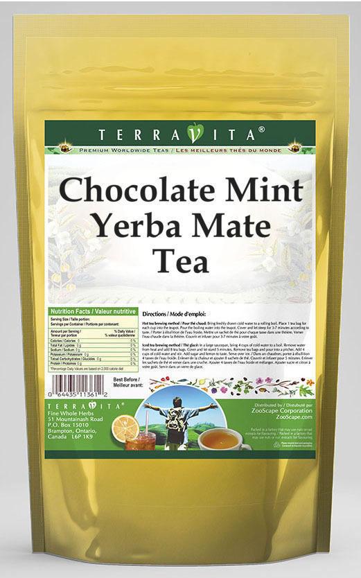 Chocolate Mint Yerba Mate Tea
