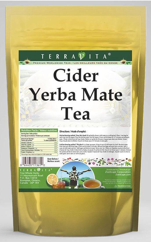 Cider Yerba Mate Tea