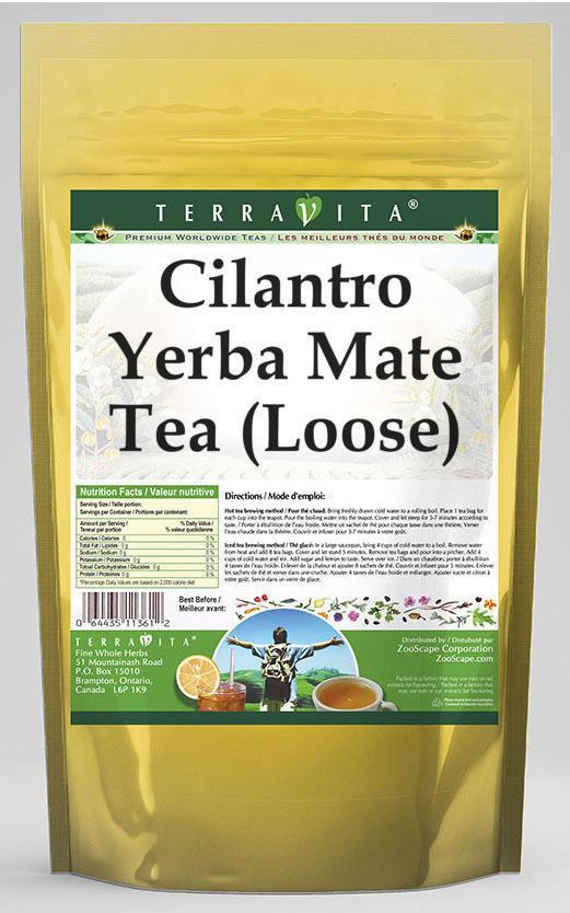 Cilantro Yerba Mate Tea (Loose)
