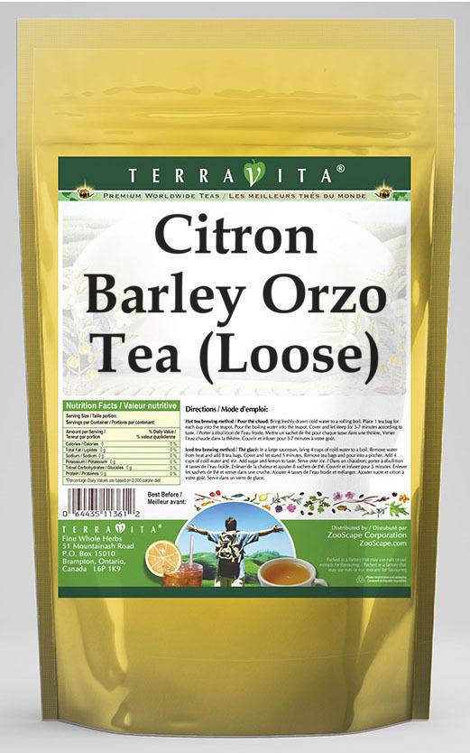 Citron Barley Orzo Tea (Loose)