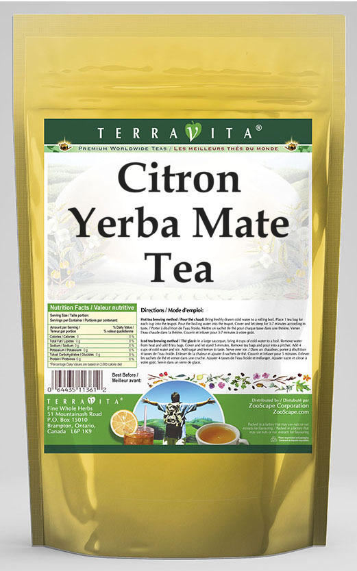 Citron Yerba Mate Tea