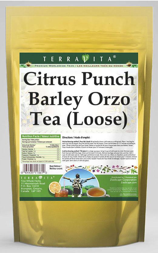 Citrus Punch Barley Orzo Tea (Loose)