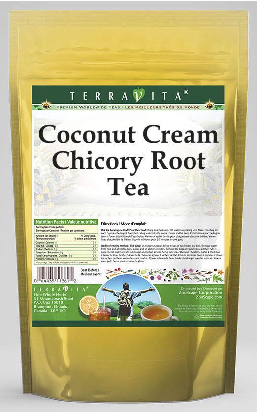 Coconut Cream Chicory Root Tea