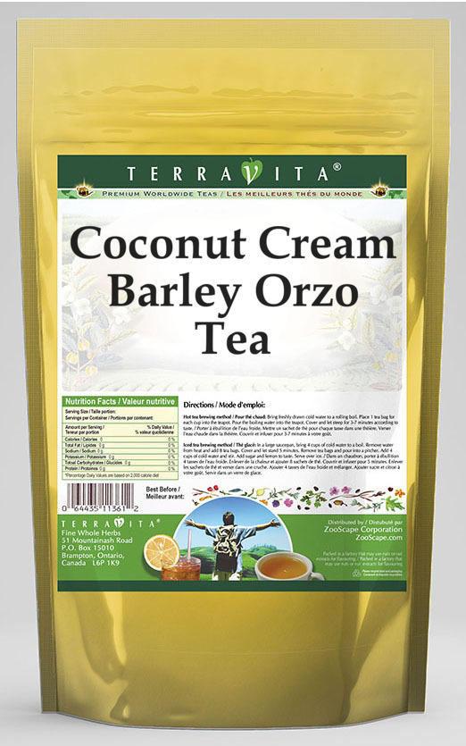 Coconut Cream Barley Orzo Tea