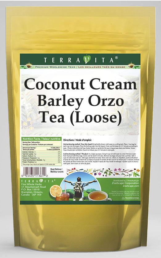 Coconut Cream Barley Orzo Tea (Loose)