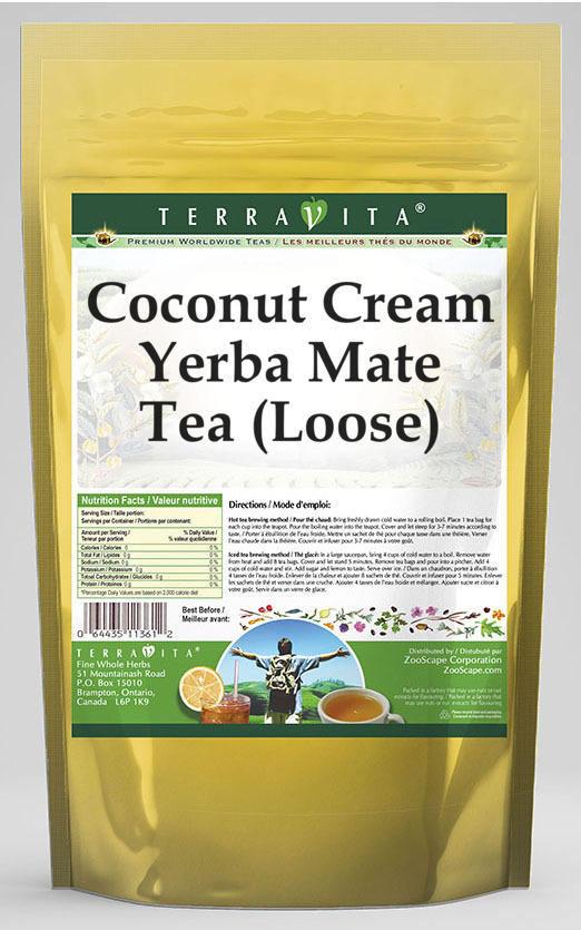 Coconut Cream Yerba Mate Tea (Loose)