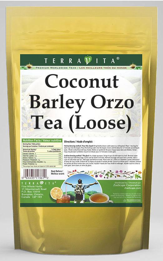 Coconut Barley Orzo Tea (Loose)