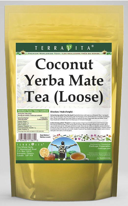 Coconut Yerba Mate Tea (Loose)