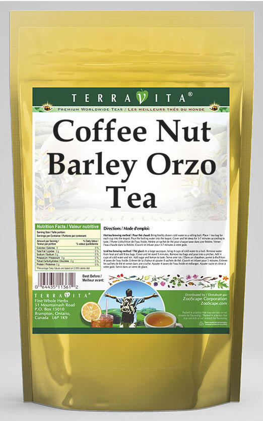 Coffee Nut Barley Orzo Tea