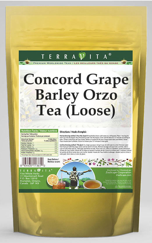 Concord Grape Barley Orzo Tea (Loose)