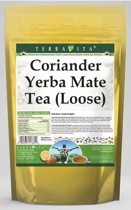 Coriander Yerba Mate Tea (Loose)