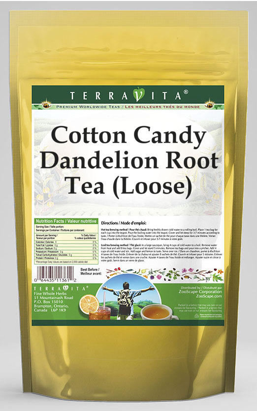 Cotton Candy Dandelion Root Tea (Loose)