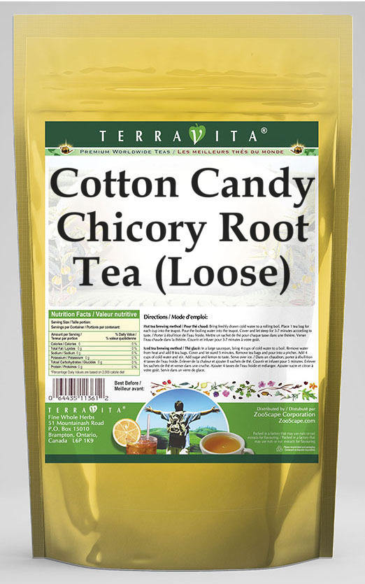 Cotton Candy Chicory Root Tea (Loose)