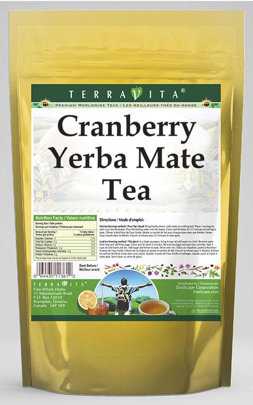 Cranberry Yerba Mate Tea