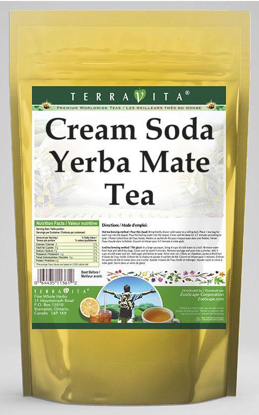 Cream Soda Yerba Mate Tea