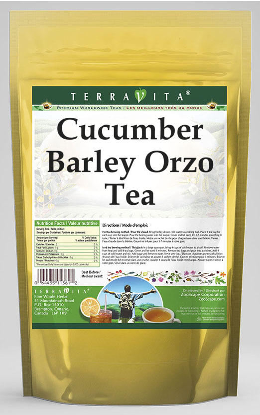 Cucumber Barley Orzo Tea