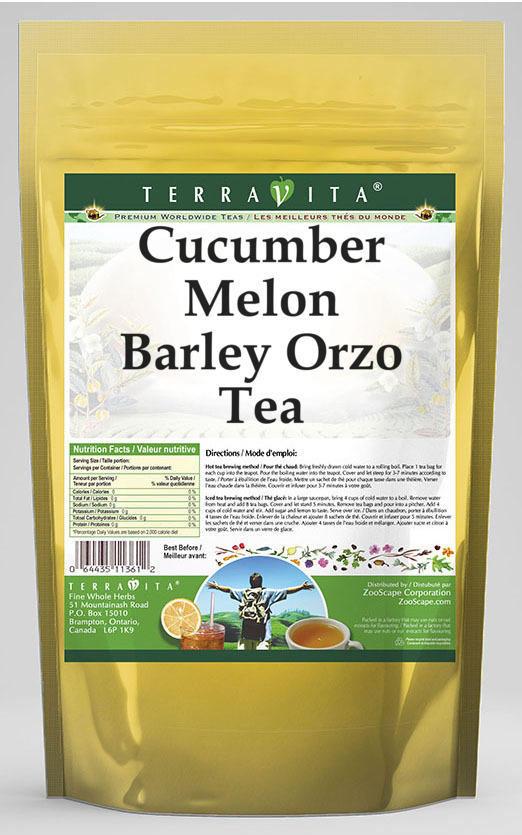 Cucumber Melon Barley Orzo Tea