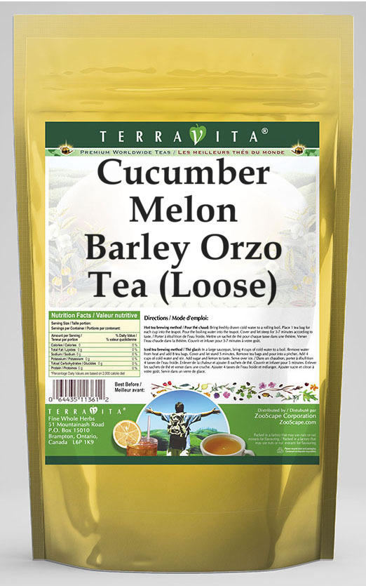 Cucumber Melon Barley Orzo Tea (Loose)