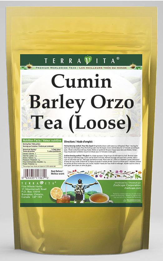 Cumin Barley Orzo Tea (Loose)