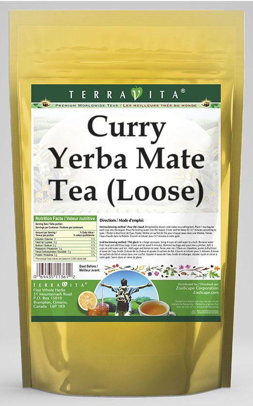 Curry Yerba Mate Tea (Loose)