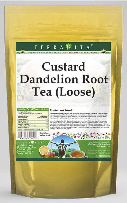 Custard Dandelion Root Tea (Loose)