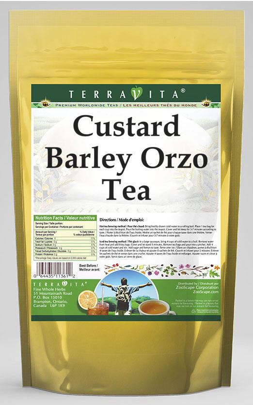Custard Barley Orzo Tea