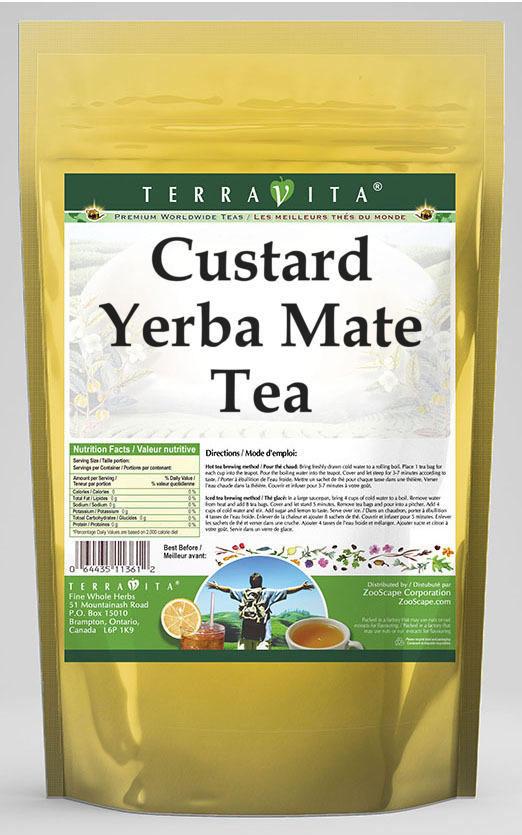 Custard Yerba Mate Tea