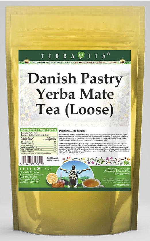 Danish Pastry Yerba Mate Tea (Loose)