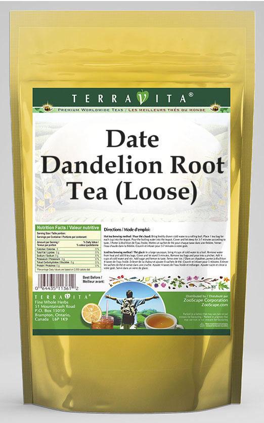 Date Dandelion Root Tea (Loose)