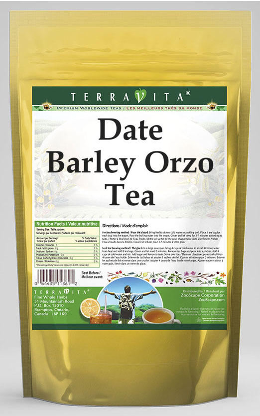 Date Barley Orzo Tea
