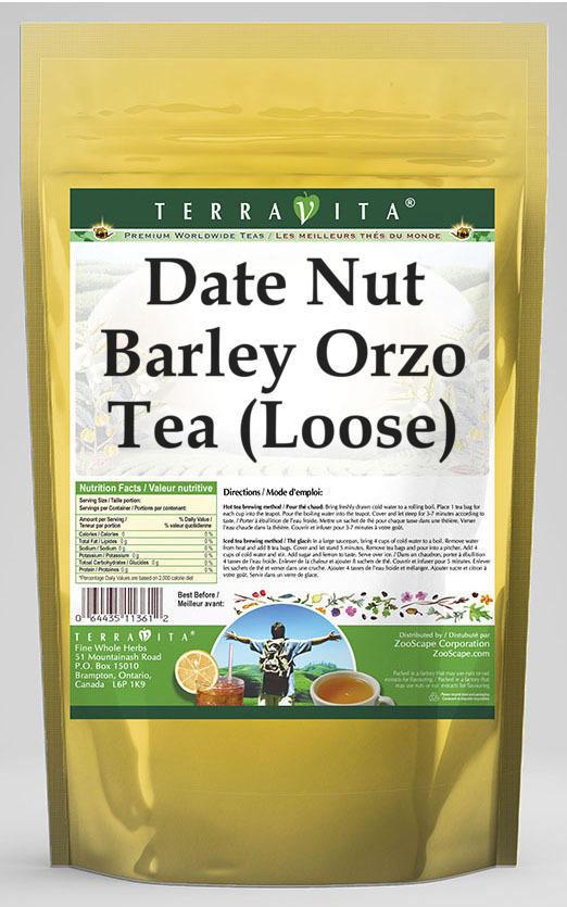 Date Nut Barley Orzo Tea (Loose)