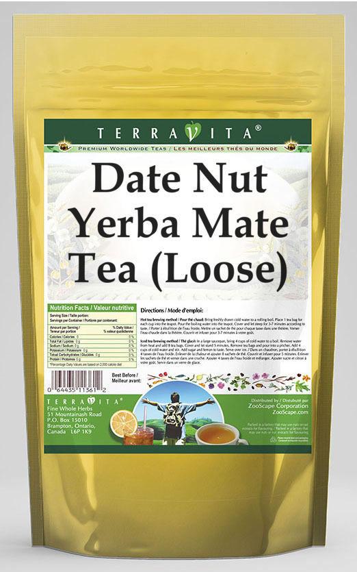 Date Nut Yerba Mate Tea (Loose)