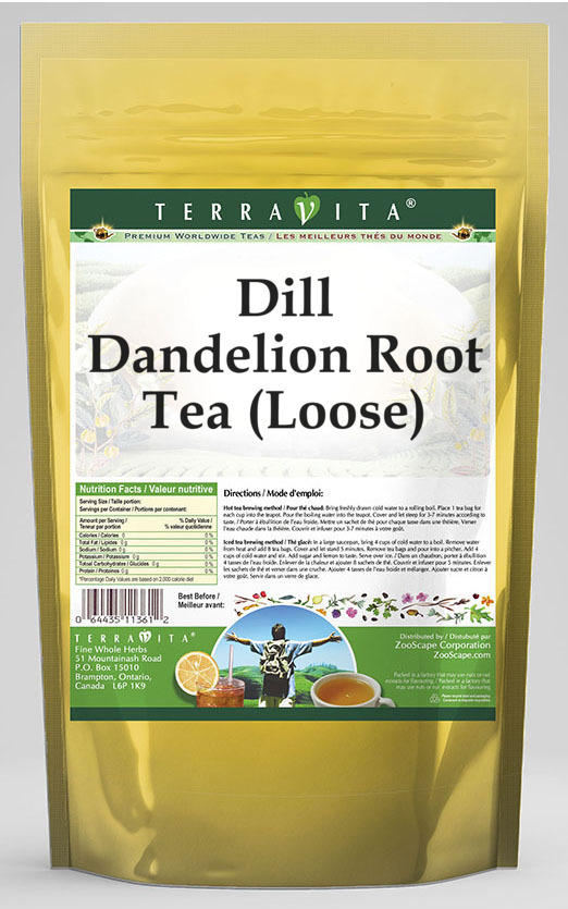 Dill Dandelion Root Tea (Loose)