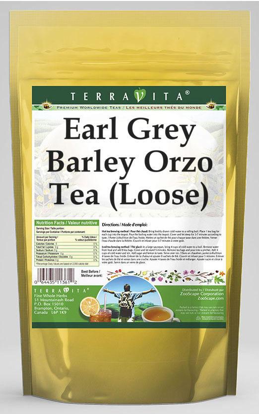Earl Grey Barley Orzo Tea (Loose)