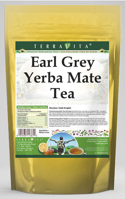 Earl Grey Yerba Mate Tea