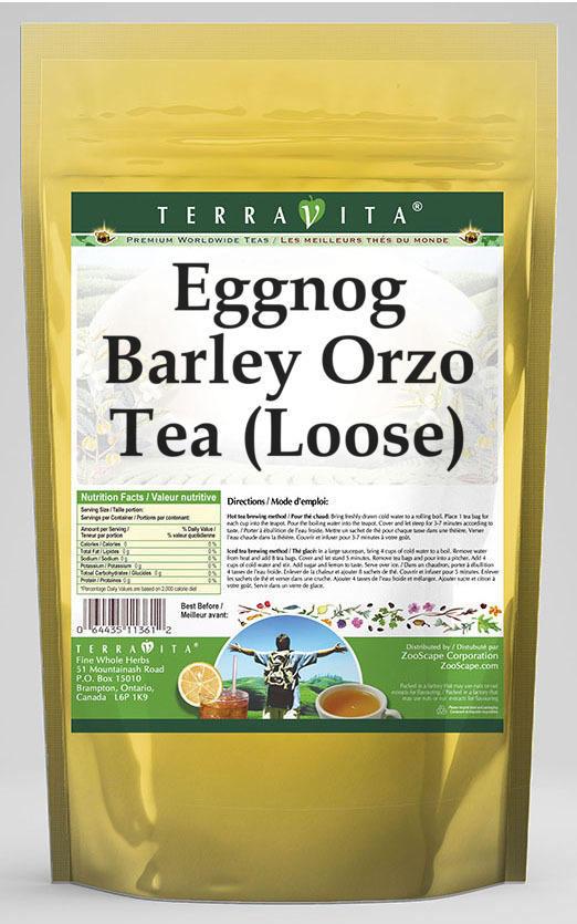 Eggnog Barley Orzo Tea (Loose)