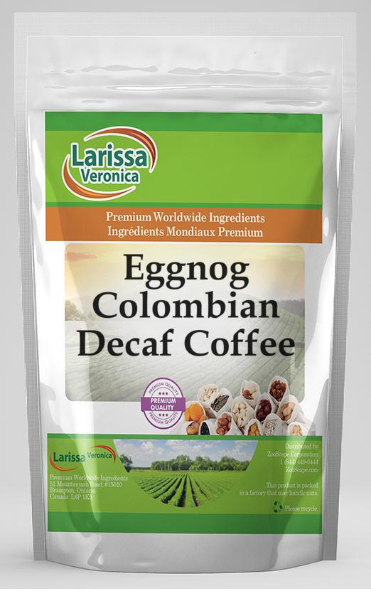 Eggnog Colombian Decaf Coffee