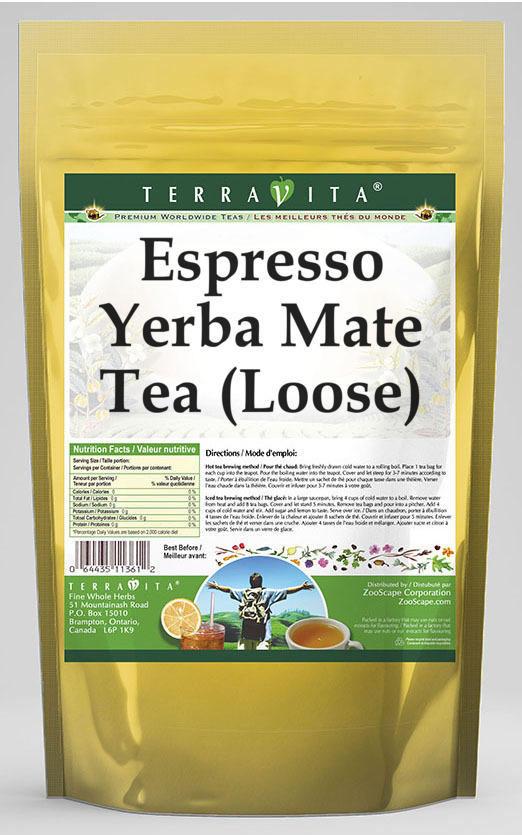 Espresso Yerba Mate Tea (Loose)