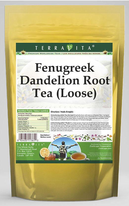 Fenugreek Dandelion Root Tea (Loose)