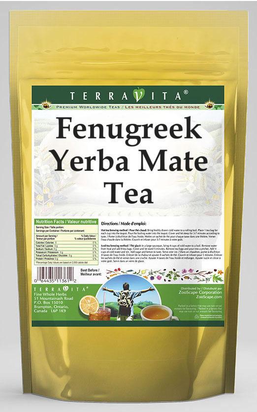 Fenugreek Yerba Mate Tea