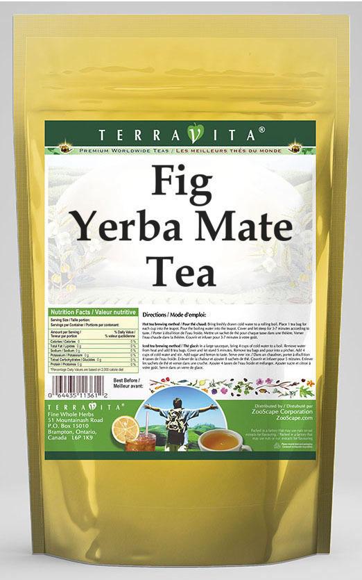 Fig Yerba Mate Tea
