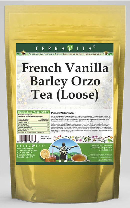 French Vanilla Barley Orzo Tea (Loose)