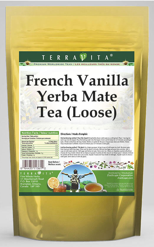 French Vanilla Yerba Mate Tea (Loose)