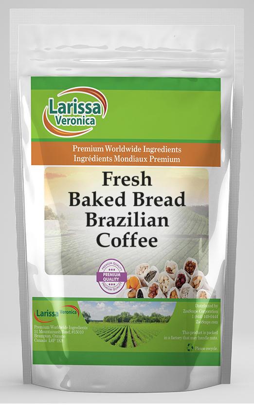 Fresh Baked Bread Brazilian Coffee