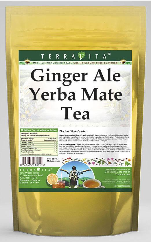Ginger Ale Yerba Mate Tea