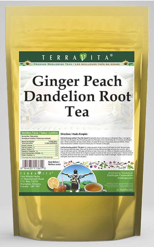 Ginger Peach Dandelion Root Tea
